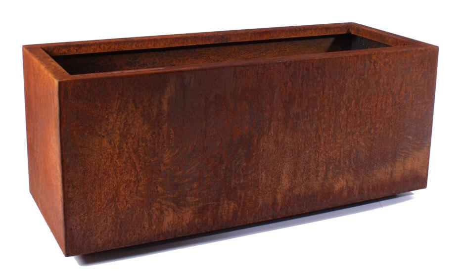 Rusted Patina Planter Box