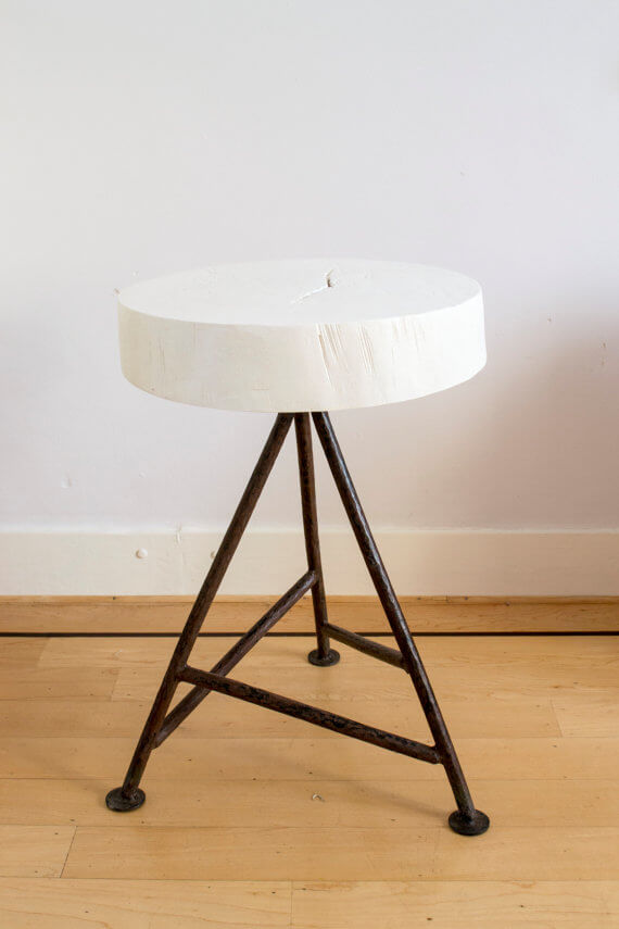 Scrap Wood Kitchen Stool