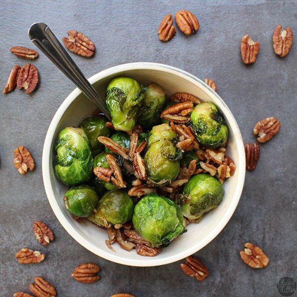 This is another smoky-sweet Brussels sprouts recipe. They only take two minutes to steam in the pressure cooker. Literally - two minutes!