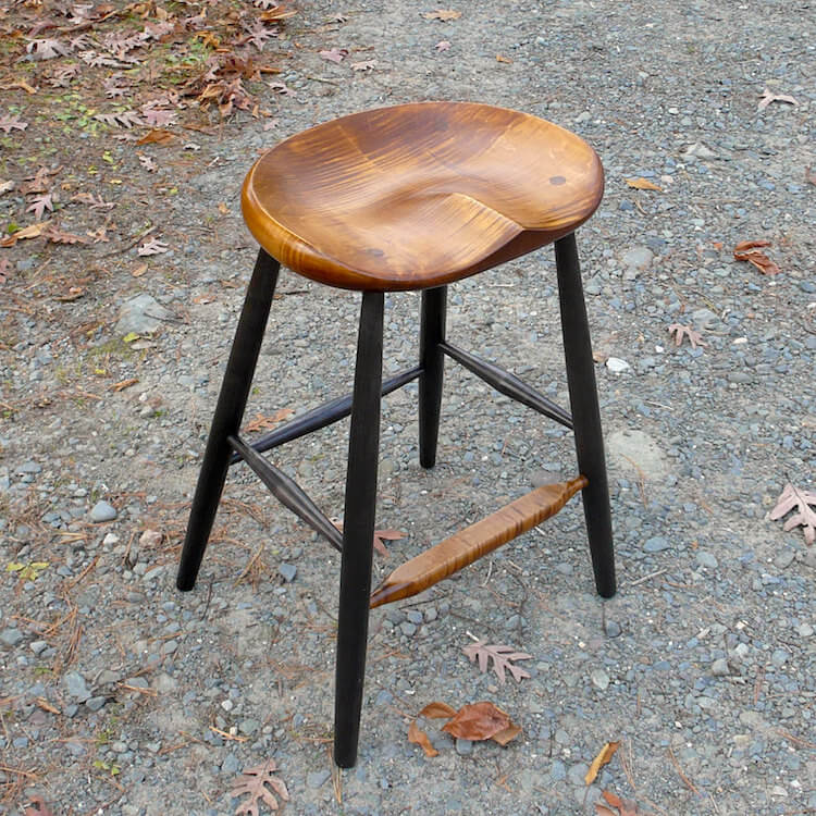 Wood Kitchen Island Stool