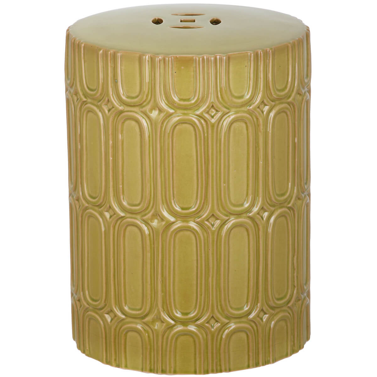 Art Deco Garden Stool