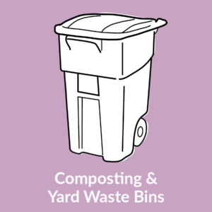 Composting & Yard Waste Bins