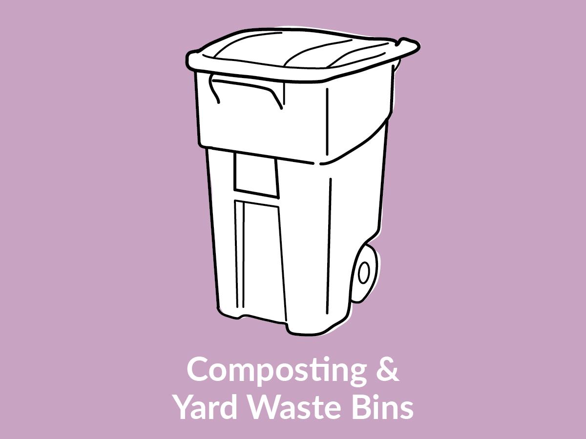 Composting & Yard Waste Bins