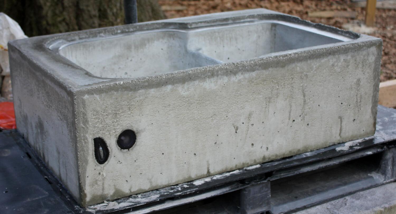 Concrete Farm Sink