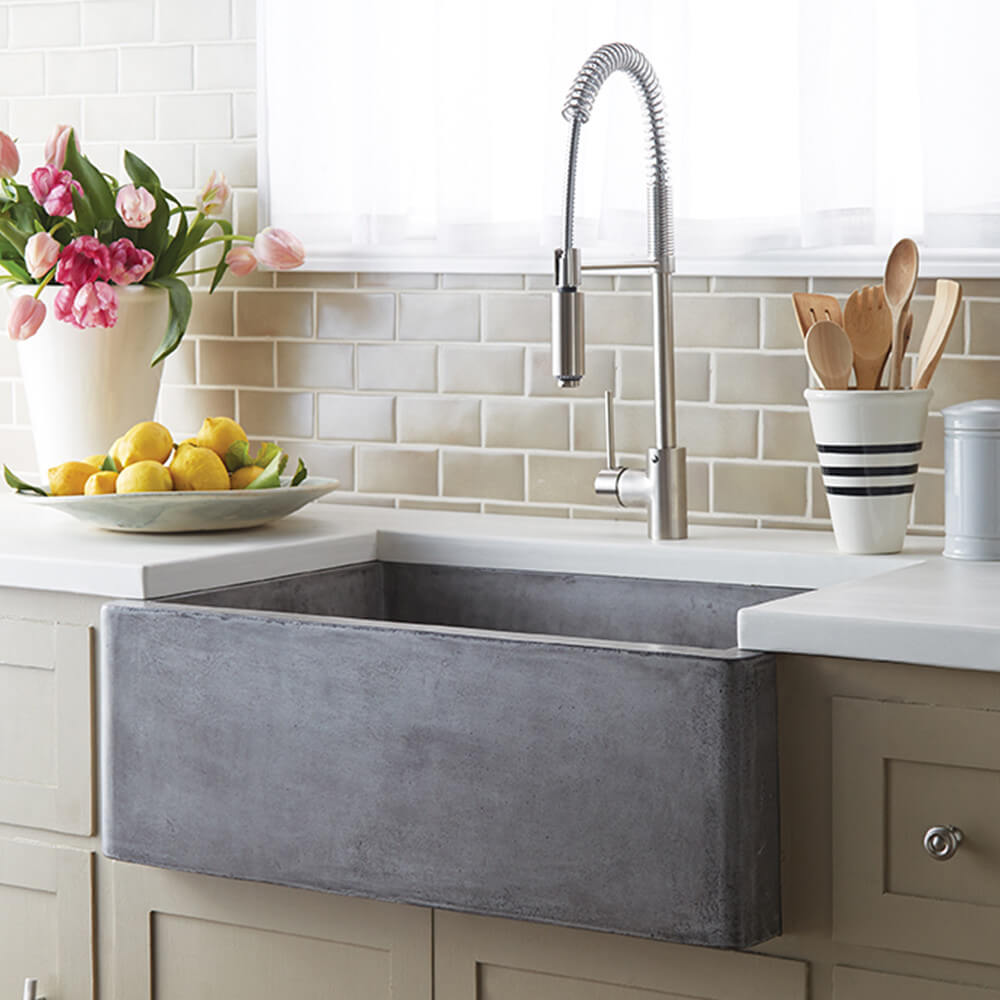 Eco-Friendly Stone Farm Sink