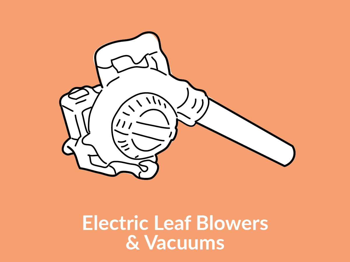 Electric Leaf Blowers & Vacuums