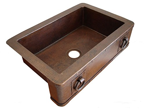 Farm sinks insteading hammered copper farm sink workwithnaturefo
