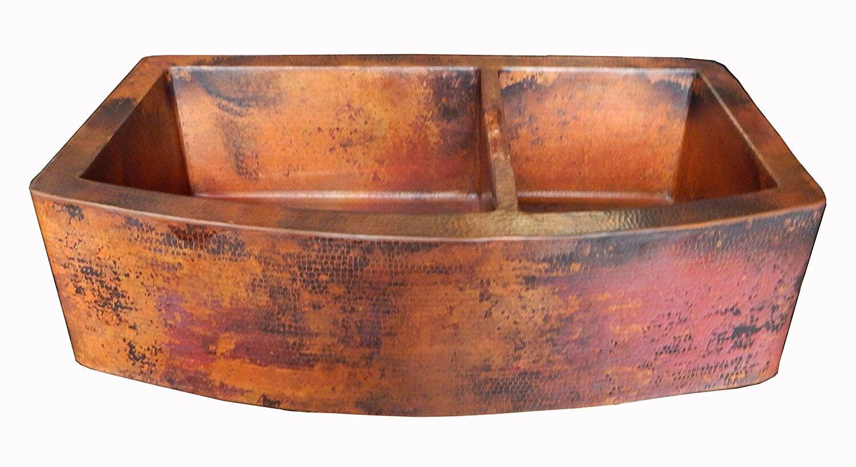 Mexican Copper Farm Sink