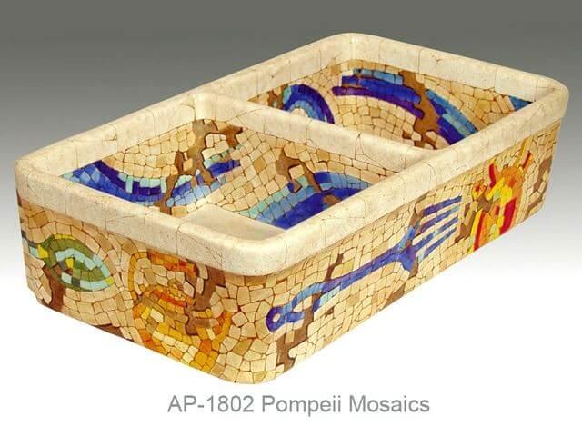 Mosaic Farm Sink