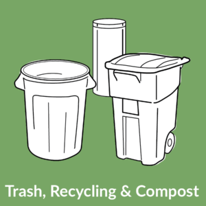 Trash, Recycling & Compost