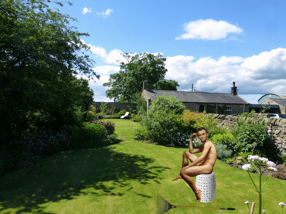 abraham lincoln world naked gardening day
