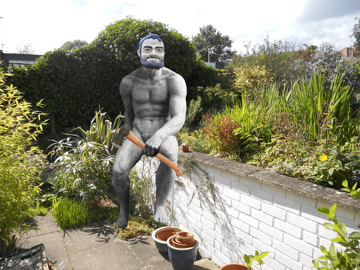 paul bunyan world naked gardening day