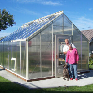 san juan model polycarbonate greenhouse