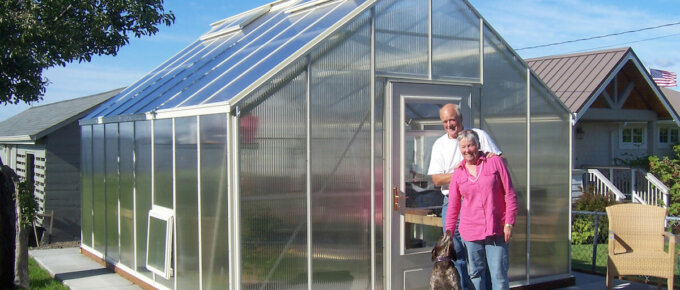 san juan model polycarbonate greenhouse