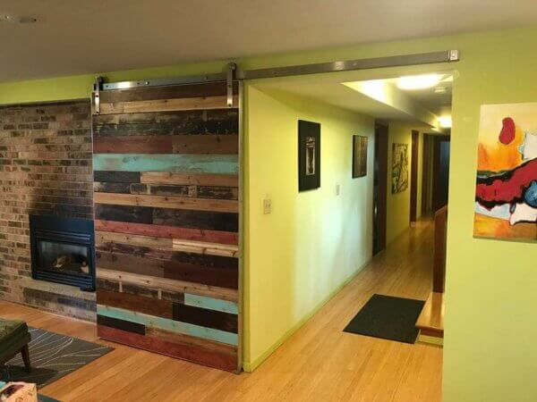 Installing An Interior Barn Door Insteading