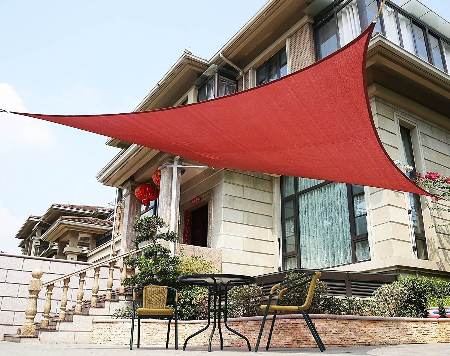 12' Square LyShade Shade Sail