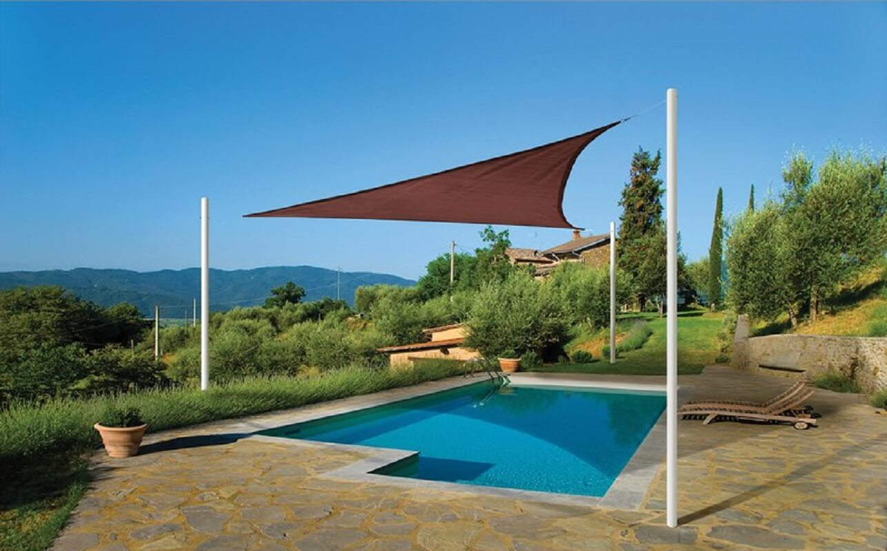 12' Triangular Shade Sail