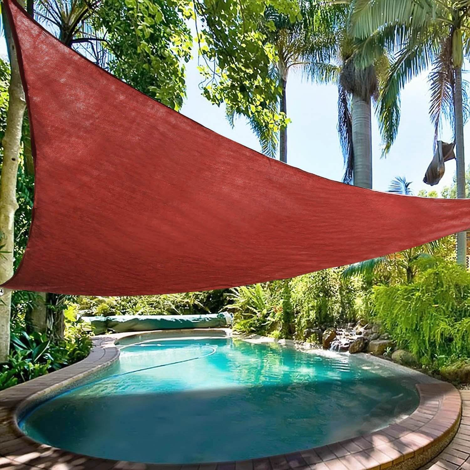 16.5' Ollieroo Triangle Shade Sail