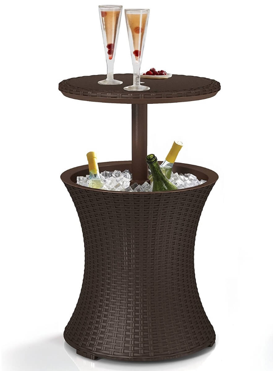 Cooler Coffee Wine Table
