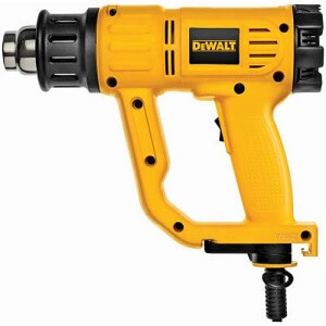 yellow dewalt heat gun
