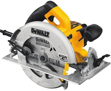 dewalt yellow light weight circular saw