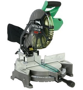 hitachi 10 inch green miter saw