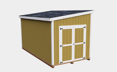 Large 8x16 Lean To Shed Plans