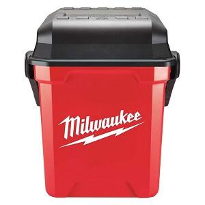 red milwaukee tool box
