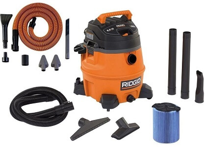 ridgid 14 gallon wet dry shop vac