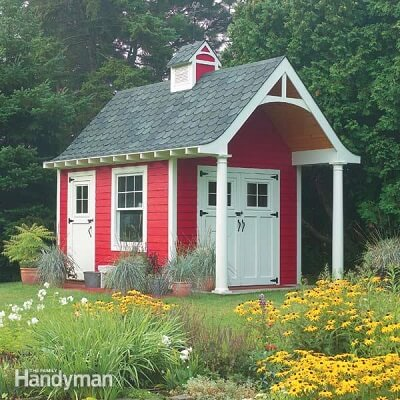 Schoolhouse Shed Plans