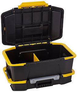 stanley click & connect tool box