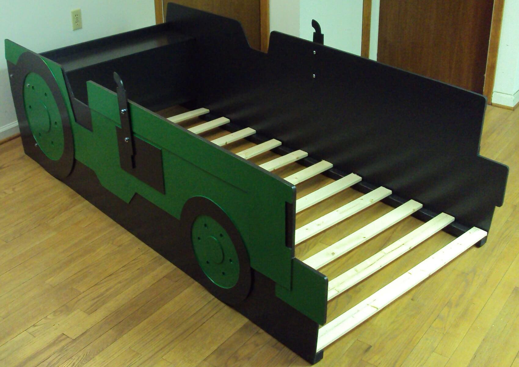 kids tractor bed frame