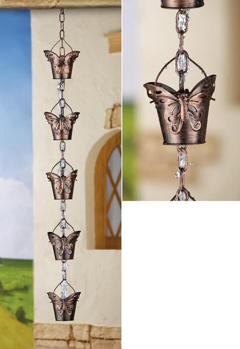 Butterfly Rain Chain