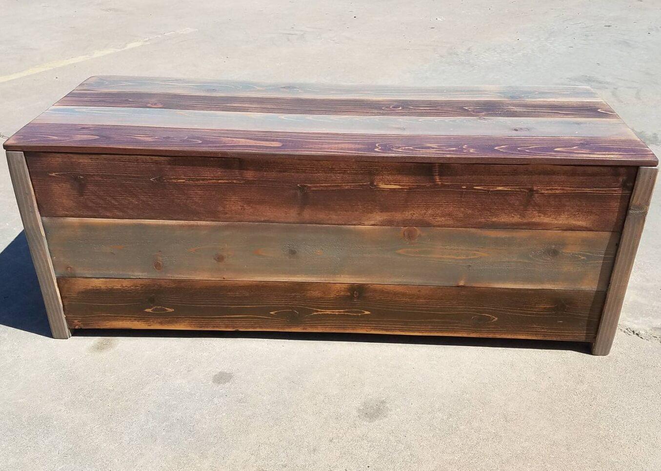 Farmhouse Storage Bench