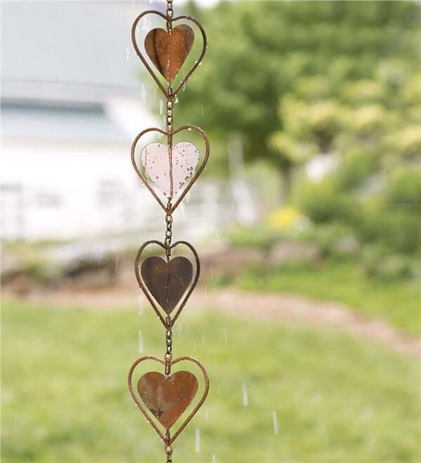 Heart Rain Chain