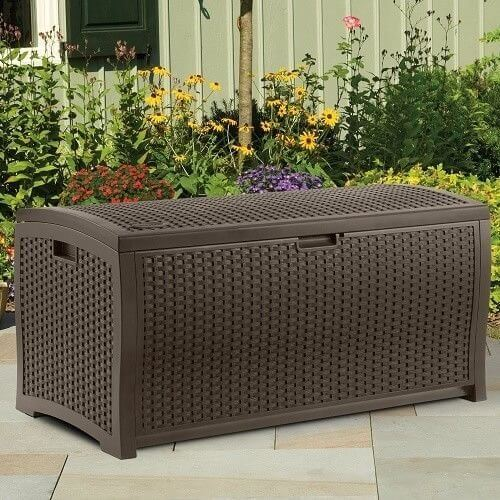 Large Outdoor Storage Bench