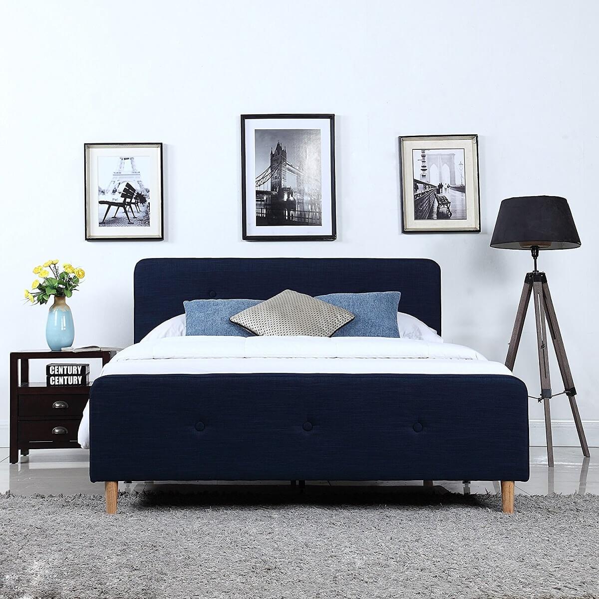 Linen Bed Frame