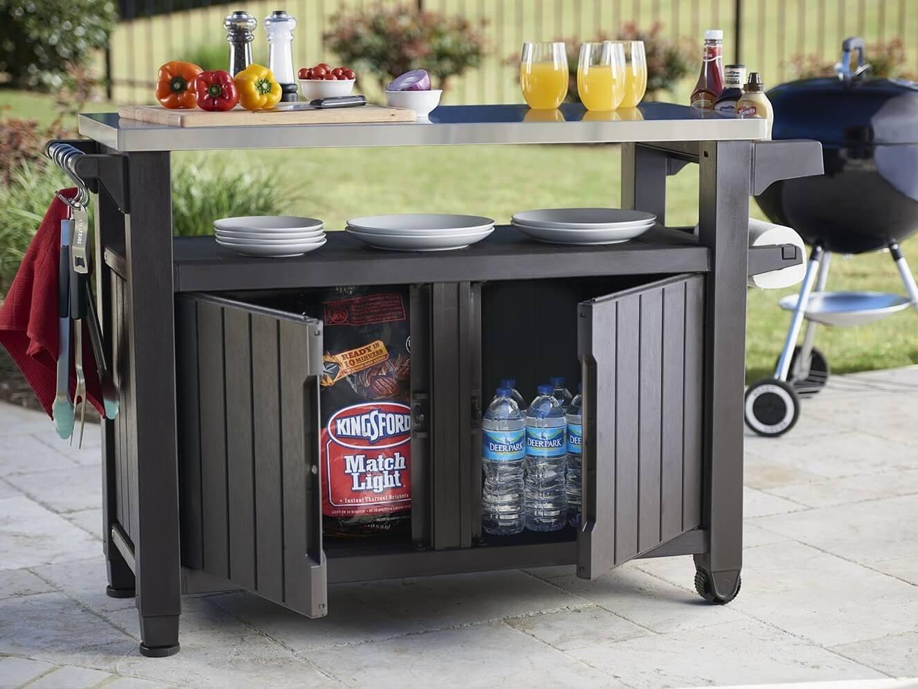 Multi-purpose Outdoor Storage Bench