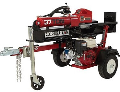 red northstar brand hydraulic log splitter