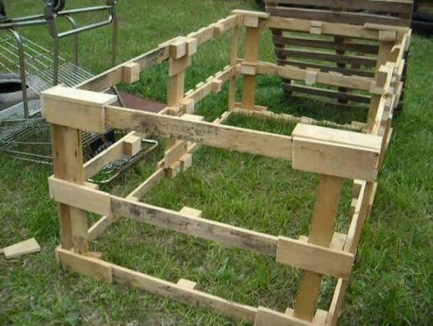 Pallet Chicken Tractor Plans