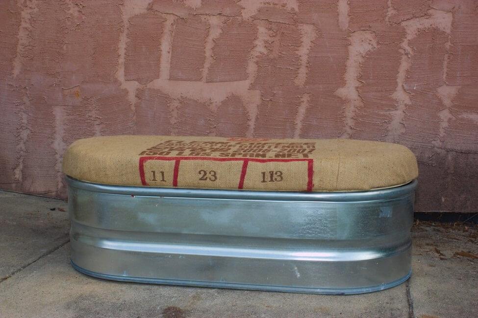 Upcycled Storage Bench
