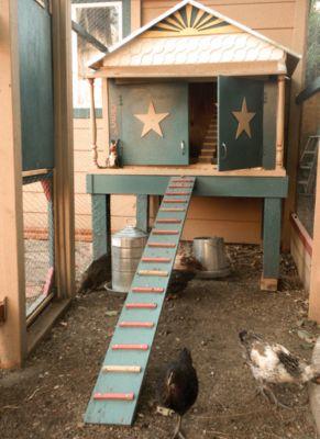 Victorian Inspired Chicken Coop Plans
