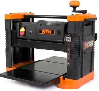 orange and black wen brand planer