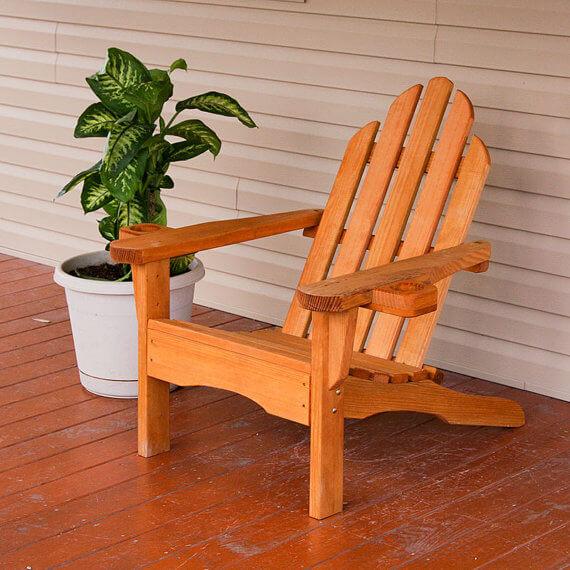 Amish Adirondack Chair