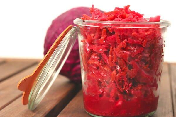 Carrot And Radish Sauerkraut