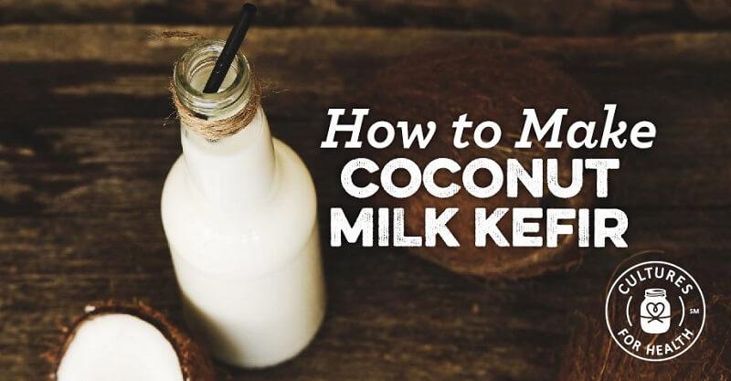 Coconut Milk Keifer