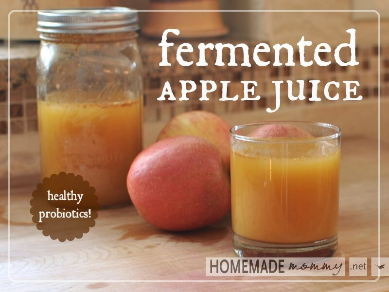 Fermented Apple Juice