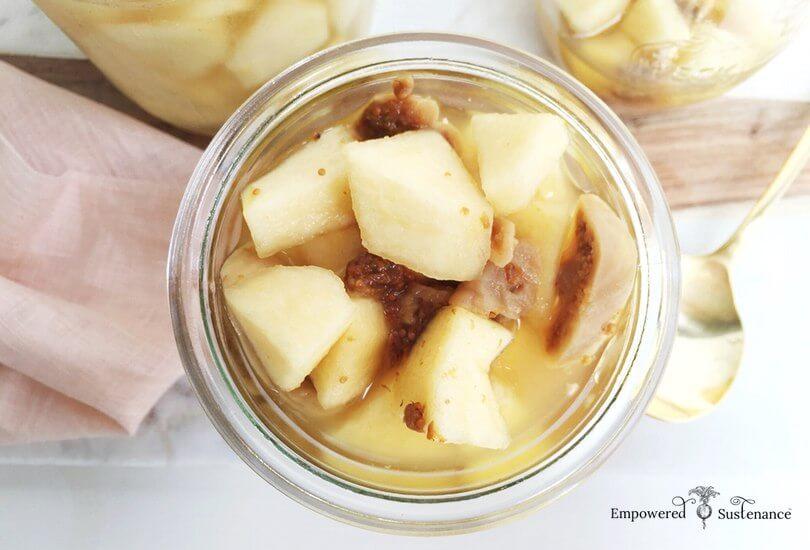 Probiotic-Rich Apples