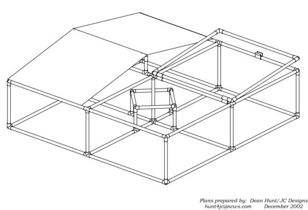 simple pvc chicken coop plans