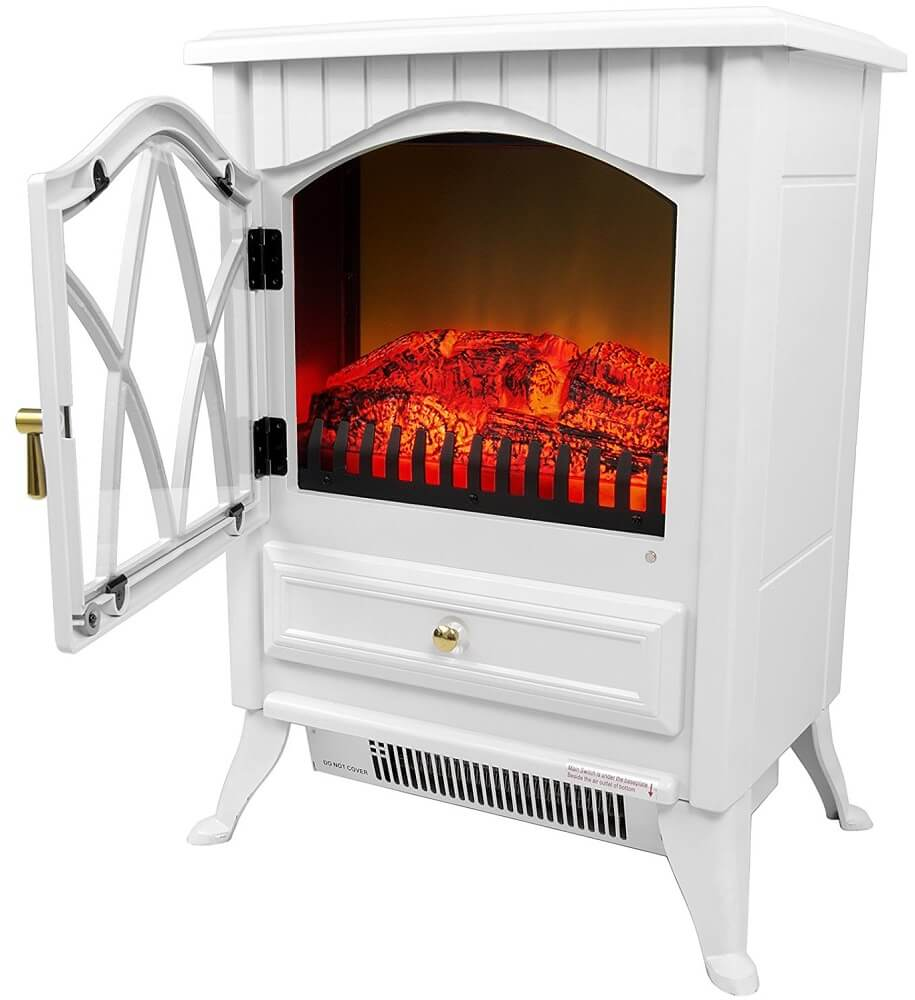 Small White Freestanding Electric Stove